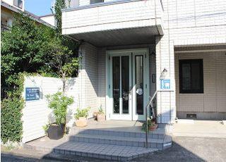 鶴田歯科医院の入口です。