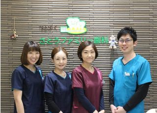 なるぱーくさとうファミリー歯科_自分の子どもや家族に受けさせたい治療を行います