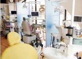 診療室は仕切りがありますので、プライベート空間で治療を受けていただくことができます。