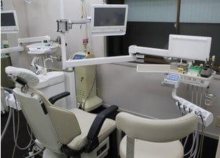 こちらが診療台です。