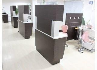 診療室は半個室になっております。安心して診療を受けられます。
