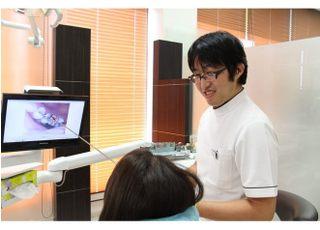 オレンジ歯科治療の事前説明1