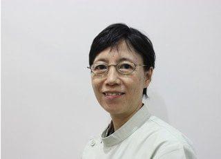 中村睦子副院長です。男性の方には相談しにくいという女性の患者様にも安心して来院いただけます。