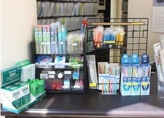 デンタルケア製品を多数取り揃えております。