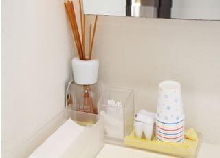 お手洗いにはアロマを置いています