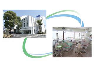 岡部歯科は江戸川病院との医療連携を行っています。