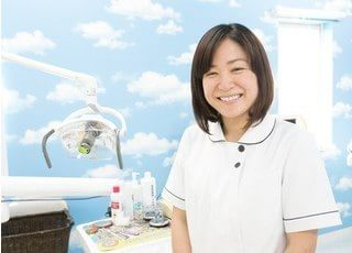 歯科衛生士の森田 由美です。ご来院された皆様に予防の大切さをお伝えしたいと思っております。