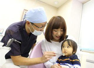 お子様の予防や治療もおこないます。