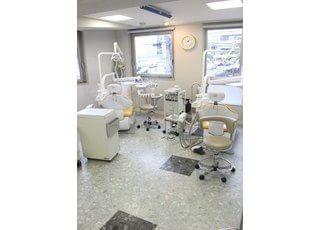 診療スペースでございます。