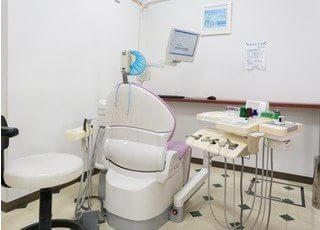 診療室には仕切りがあり、周りを気にせず治療を受けていただけます。