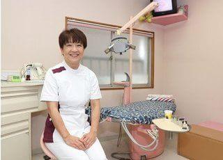 小児矯正歯科を担当する、綾子先生です。