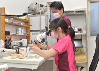 白鳥歯科・矯正歯科_歯科技工士が在籍するより良い治療