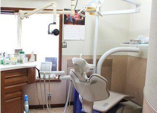 広い診療室で快適に治療が受けられます。