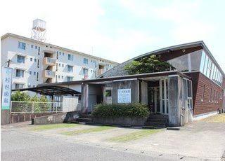 外観です。松橋駅から徒歩12分の場所にあります。