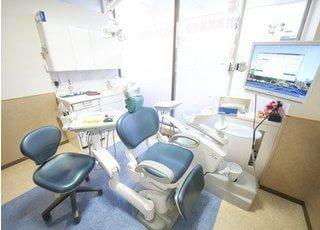 診察室はすべて個室になっており治療風景を他の患者様に見られることはありません。