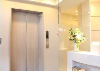 エレベーターをご利用ください