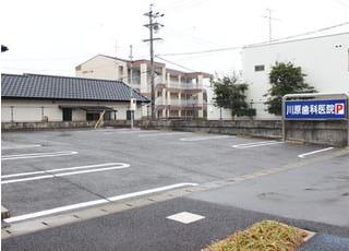 医院専用駐車場をご用意しています。