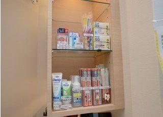 おすすめの歯科用品も販売しております。