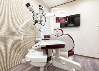ココロデンタルの診療室は個室になっております。