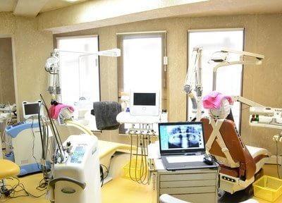 広々とした診療スペースです。