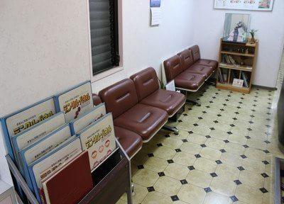 待合室です。こちらでお待ち下さい。