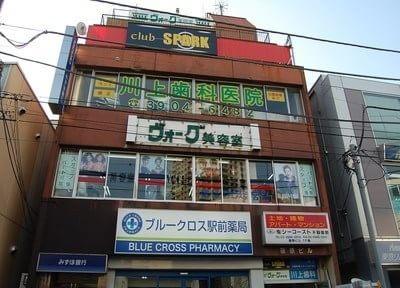 石神井公園駅より徒歩1分、川上歯科医院です。こちらの建物の3階になります。
