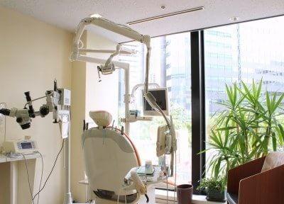 開放感のある、診療室になっております。