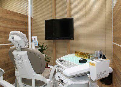 白を基調とした診療室になっています。