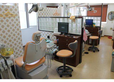 診療室の内装にもこだわっています。