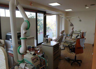 診療室です。こちらで治療します。