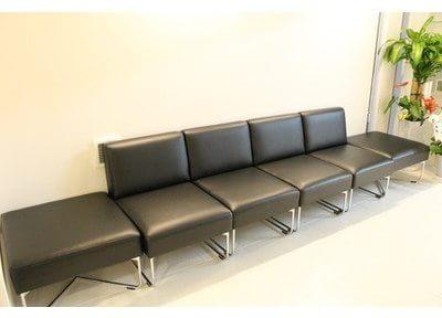 待合室です。リラックスできる空間になっております。