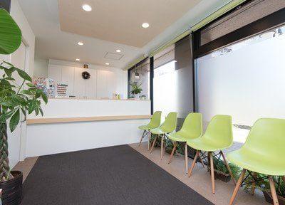 診療が始まるまで待合室でおくつろぎください。