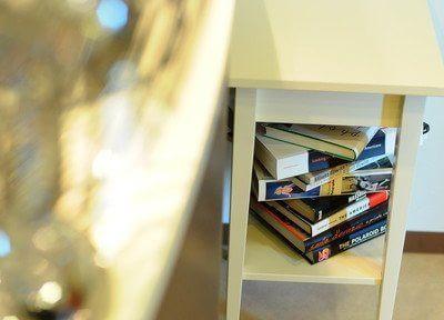 院内には、本や雑誌をご用意しておりますのでご自由にご覧ください。