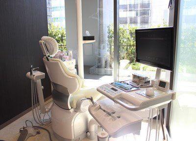 開放感のある診療室です。