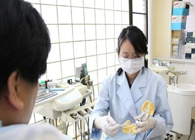 虫歯にならない環境をつくり、歯周病対策をしています