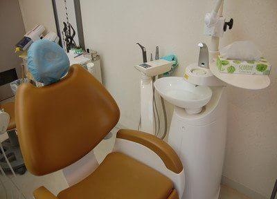 ふかふかな診療チェアで快適に治療を受けられます。