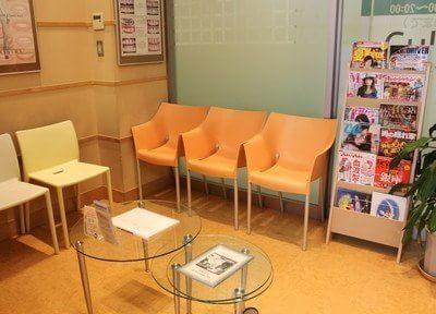 待合室です。ごゆっくりお過ごし下さい。