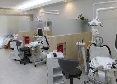 白を基調とした診療室です。個室も完備しています。