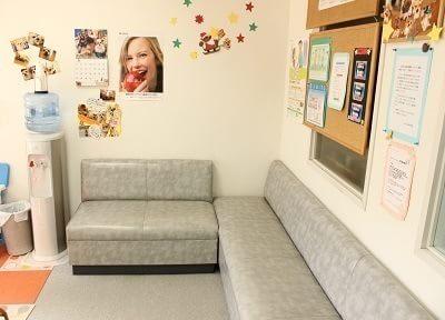 アットホームな待合室なのでリラックスできます。