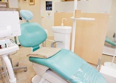 診療チェアです。歯のどんなお悩みもご相談ください。