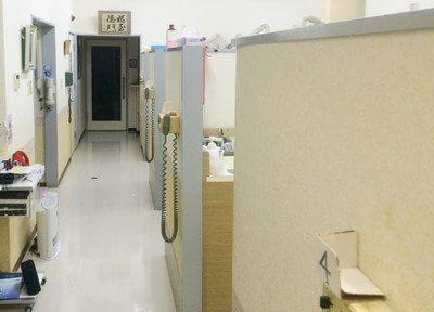 リラックスしながら治療を受けられる診療スペース