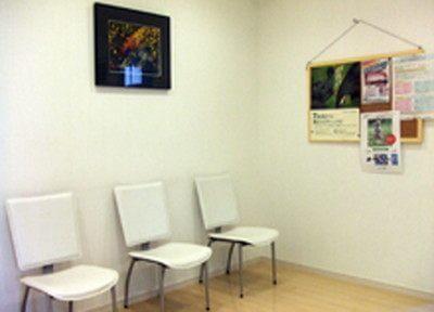 待合室です。診療までの間ごゆっくりお待ちください。