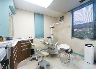 歯科用のユニットです。常に清潔を保っています。
