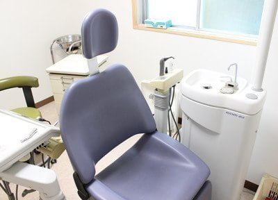 診療チェアです。1階には車椅子の方の診療室をご用意しています。