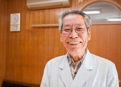 院長です。患者様に合わせた治療を行います。
