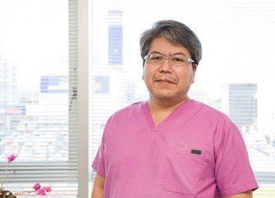 院長の森田先生です。患者様との信頼関係を大切にしております。