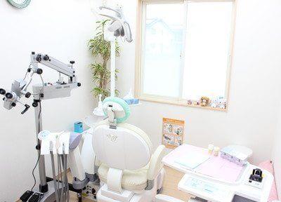 診療室は全室個室になっております。なるべく患者様が痛みを感じないように治療しております。