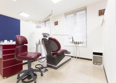 こちらが診察室です。ご予約制ですので、お待たせすることなく診療をお受けいただけます。
