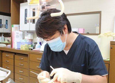 ササコ歯科クリニックの院長です。お口についてお悩みがありましたら、ぜひ一度ご相談ください。