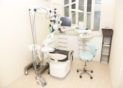診療室は個室制ですので、皆様のプライバシーを守ります。